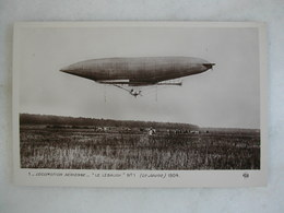 AVIATION - Le Lebaudy N° 1 (Le Jaune) - 1904 - Dirigibili