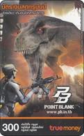Thailand Phonecard True  Anime Manga Movie Film Point Blank Saurus - Kino
