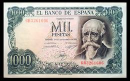 # # # Banknote Spanien (Spain) 1.000 Pesetas 1971 AU # # # - 1000 Pesetas