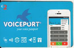 GREECE - Voiceport Prepaid Card 2 Euro, Used - Griekenland