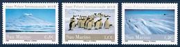 2008 San Marino International Polar Year: Penguins, Antarctic Landscapes Set (** / MNH / UMM) - International Polar Year