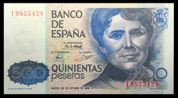 # # # Banknote Spanien (Spain) 500 Pesetas 1979 UNC # # # - [ 4] 1975-… : Juan Carlos I