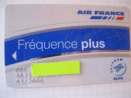"""Telecarte Air France Frequencespecial Club"""" Elite"""" - Phonecards"""