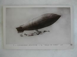AVIATION - Le Ville De Paris - 1908 - Dirigibili