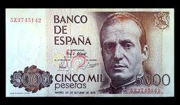 # # # Banknote Spanien (Spain) 5.000 Pesetas 1992 UNC # # # - [ 4] 1975-… : Juan Carlos I