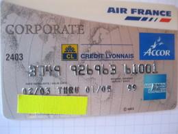 "Telecarte Air France""corporate Argent"" - Phonecards"