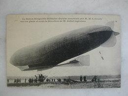 """AVIATION - Le Ballon Dirigeable Militaire """"Patrie"""" Construit Par M.M. Lebaudy (animée) - Dirigibili"""