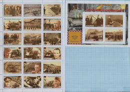 Fantazy Labels / Private Issue. 1st Czechoslovak Army Corps. The Second World War. 2020 - Fantasie Vignetten