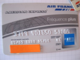 """Telecarte Air France""""american Express Argent"""" - Phonecards"""