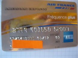 "Telecarte Air France""american Express Or "" - Phonecards"