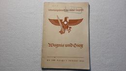 Raree Heft Schulungsdienst Der HJ Wagnis Und Sieg 1941 DJ Bund Deutscher Mädels BDM JM - 1939-45