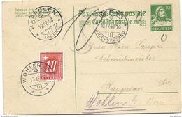 44 - 2 - Entier Postal Avec Timbre Taxe 1948 - Portomarken