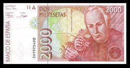 # # # Banknote Spanien (Spain) 2.000 Pesetas UNC # # # - [ 4] 1975-… : Juan Carlos I