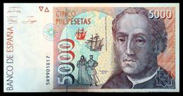 # # # Banknote Spanien (Spain) 5.000 Pesetas 1992 # # # - [ 4] 1975-… : Juan Carlos I