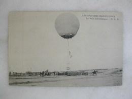AVIATION - Les Grandes Manoeuvres - Le Parc Aérostatique (animée) - Balloons