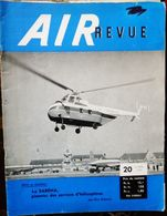 Air Revue - 20 (25 Nov. 1954) - La SABENA, Pionnier Des Services D'hélicoptères - Aviazione