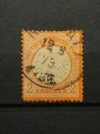Deutsche Reich Brustschild Mi-Nr. 15 Gestempelt - Germania