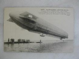 "AVIATION - Le Dirigeable Allemand ""Zeppelin IV"" (animée) - Dirigibili"