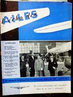 L'Echo Des Ailes - 23ème Année N° 15-16 (Août 1953) - Revue Belge Pour La Défense Aéronautique - Aviazione