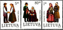 Lithuania 1994 Mih. 563/65 Coat Of Arms Of Lithuanian Cities MNH ** - Lituania