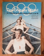 Das Deutsche Mädel, BDM In Der HJ Augustheft 1936, Ausgabe Nordsee - German