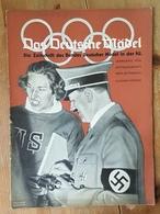 Das Deutsche Mädel, BDM In Der HJ Septemberheft 1936, Ausgabe Nordsee - German