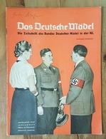 Das Deutsche Mädel, BDM In Der HJ Januarheft 1937, Ausgabe Nordsee - Deutsch
