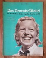 Das Deutsche Mädel, BDM In Der HJ Märzheft 1937, Ausgabe Nordsee - Deutsch