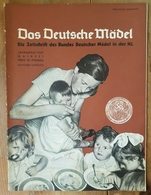 Das Deutsche Mädel, BDM In Der HJ Maiheft 1937, Ausgabe Nordsee - Deutsch