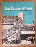 Das Deutsche Mädel, BDM In Der HJ Juniheft 1937, Ausgabe Nordsee - Magazines & Papers