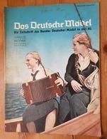 Das Deutsche Mädel, BDM In Der HJ Juliheft 1937, Ausgabe Nordsee - Deutsch