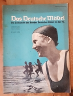 Das Deutsche Mädel, BDM In Der HJ Augustheft 1937, Ausgabe Nordsee - Magazines & Papers