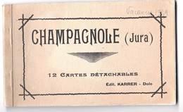 CPA   Champagnole (39) Carnet Complet De 12 Cartes  Editions Karrer Dôle     1939 - Champagnole