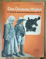 Das Deutsche Mädel, BDM In Der HJ Septemberheft 1937, Ausgabe Nordsee - Deutsch