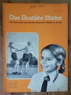Das Deutsche Mädel, BDM In Der HJ Märzheft 1938, Ausgabe Nordsee - Deutsch