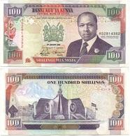 Kenya - 100 Shillings 1992 - VF P. 27d Lemberg-Zp - Kenia