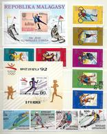 Lot Sport (1) - 4 Reeksen + 4 Bl - Stamps
