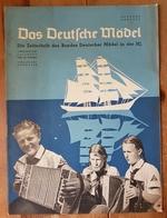 Das Deutsche Mädel, BDM In Der HJ Juliheft 1938, Ausgabe Nordsee - Deutsch