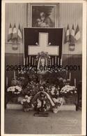 ANTONY. .    Carte-Photo De A. Mouaty -    . - Honneur à Un Poilu (commémoration) .   (scans Recto-verso) - Antony