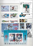 Lot Sport (2) - 5 Reeksen + 5 Bl - Stamps