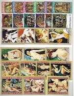 Lot Kunst (1) - 10 Reeksen - Stamps