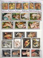 Lot Kunst (2) - 11 Reeksen - Stamps