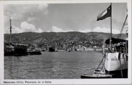 CHILE , T.P. NO CIRCULADA , VALPARAISO - PANORAMA DE LA BAHIA - Chile