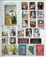 Lot Kunst (3) - 7 Reeksen + 3 Bl - Stamps