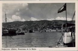 CHILE , T.P.  CIRCULADA , VALPARAISO - PANORAMA DE LA BAHIA - Chile