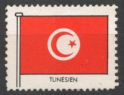TUNISIA TENESIA - FLAG FLAGS / Cinderella Label Vignette - MNH - Tunisia
