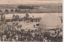 """REMICH - LANCEMENT DU BALLON """"LE REVE"""" LE 23.07.1907 - Remich"""