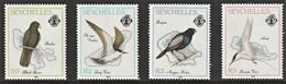 1989 Seychelles Island Birds Set And Minisheet (** / MNH / UMM) - Birds