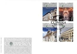 Portugal &  FDC UNESCO Heritage, University Of Coimbra, Alta And Sofia 2014 (7800) - UNESCO