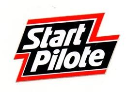 Autocollant Start Pilote - Format: 8.5x5 Cm - Stickers